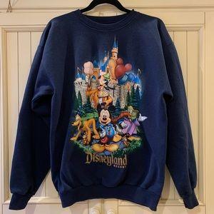 Oversized 'Vintage' Disneyland Crewneck